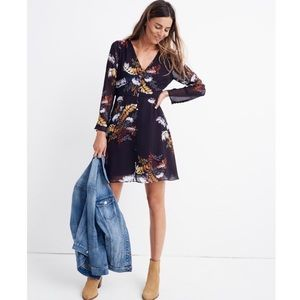 Madewell Lilyblossom button-front dress